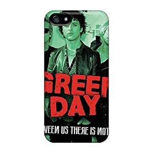 Apple Iphone 5/5s THC18398pczp Allow Personal Design Colorful Green Day Image Protector Hard Phone Covers -AlissaDubois
