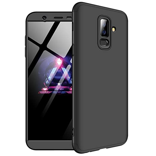 Amazon Com Case For Samsung Galaxy J8 3 In 1 Slim Case Bumper