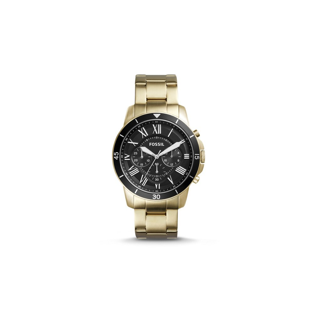 Fossil Men's FS5267 Grant Sport Chronograph Gold-Tone Stainless Steel Watch
