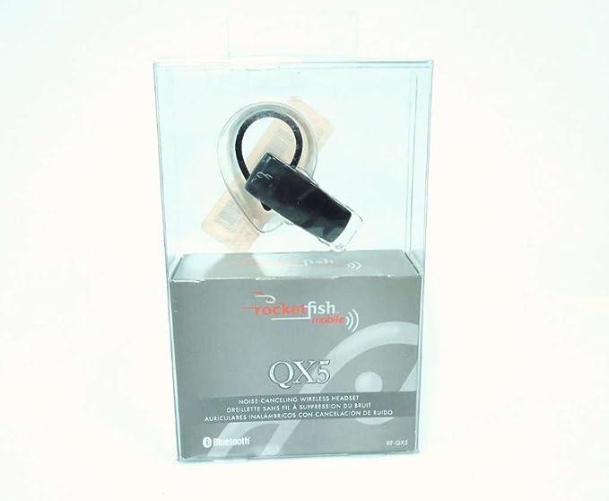 Amazon.com: Rocketfish Mobile RF-QX5 Bluetooth Headset (Black): Cell ...