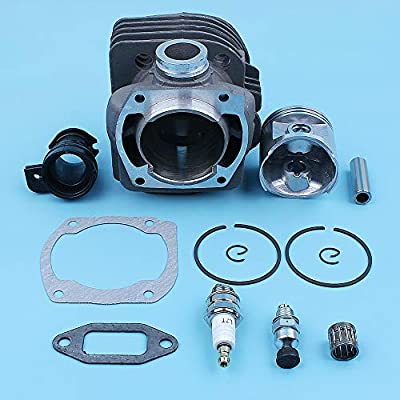 Water Hep Plated 50Mm Cylinder Piston Wt Intake Manifold Kit Fit 365 362 371 372 371K Jonsered 2165 2171 Chainsaw