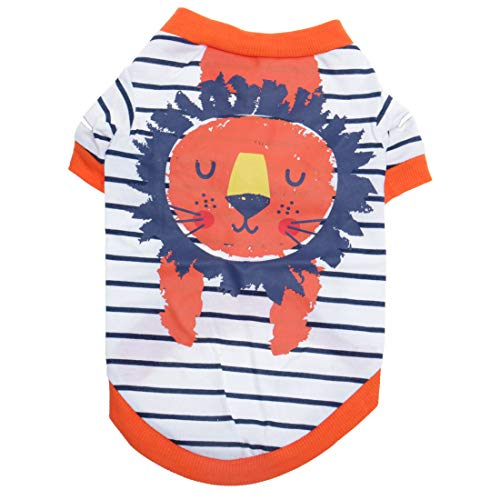 uxcell Dog T Shirts Cotton Costume Cat Pet Sweatshirt Tops Clothing Vest Puppy Spring/Fall Cool Clothes Apparel Outfits…