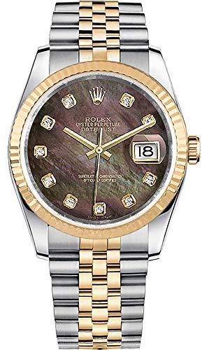 Women's Rolex Datejust 36 Diamond Luxury Watch - Ref. 116233