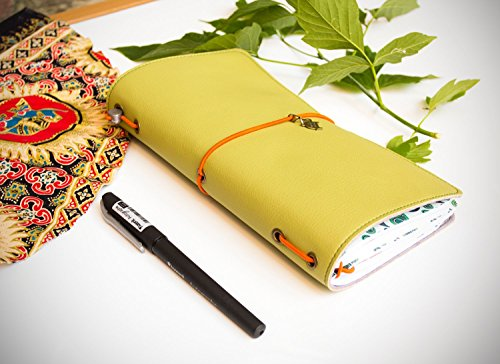 India Style Eastern Wisdom Planner Travelers Notebook Standard Oriental Mtn Illustrated Journal 3 Refills Ecoleather Shefinds