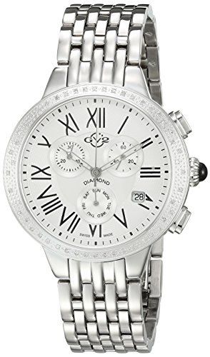 GV2-by-Gevril-Womens-ASTOR-Chronograph-Swiss-Quartz-Stainless-Steel-Casual-Watch-ColorSilver-Toned-Model-9130