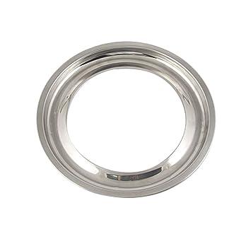 Metal 15 cm dentro estufa de Gas redonda notebookbits bandeja de goteo: Amazon.es: Hogar