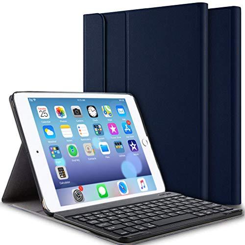 iPad Keyboard Case for iPad 9.7 Inch 2018 (6th Gen)/iPad 9.7 Inch 2017 (5th Gen)/iPad Pro 9.7 Inch/iPad Air 2/iPad Air 1…