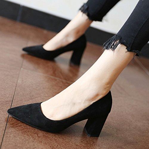 personalidad zapatos damas moda C alto primavera simple La de y FLYRCX otoño tacón el zapatos z0ap81