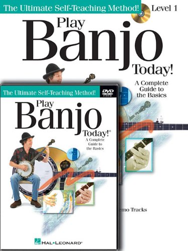 Play Banjo Today! Beginner's Pack: Level 1 Book/CD/DVD Pack (Ultimate Self-Teaching Method!)