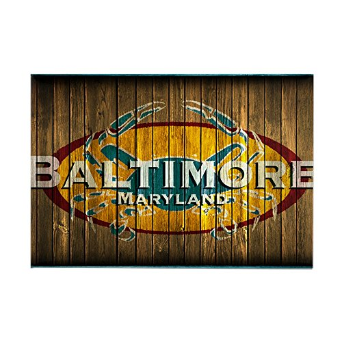 CafePress - Baltimore Crab Rectangle Magnet - Rectangle Magnet, 2