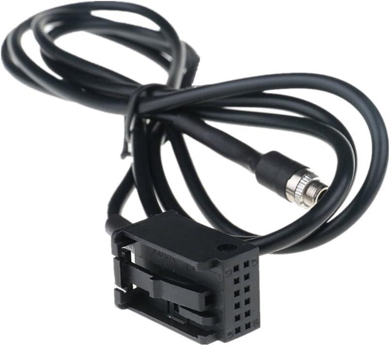 Shine @ nuevo 3,5/mm hembra Aux Audio Cable adaptador para BMW E39/E53/X5/x5/m Z4/E83/E85/E86/X3/mini cooper iPod iPhone MP3