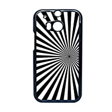 Generice Print Pattern 1 Plastics Shell For Htc One M8 Girl Clear