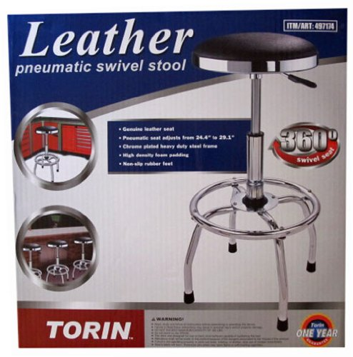Torin Big Red Pneumatic Swivel Stool, Model# TR6188C