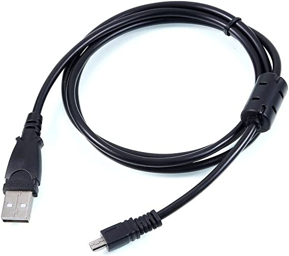 4FT Power USB Data Charger Cable Cord for Sanyo Xacti VPC-S1414 Camera