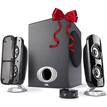 Cyber Acoustics CA-3810 38 Watt 2.1 Speaker System
