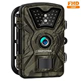Trail Camera - Earthtree Trail Game Camera FHD 1080P Deer Hunting Camera with 940nm IR LEDs,0.5s Trigger Speed,Up to 65ft Trigger Distance,2.4 inch LCD Screen,IP66 Water Resistance for Game & Home Security