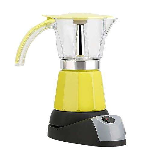 Tubayia 300ml Aluminio Cafetera Espresso eléctrica 480W ...