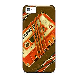 New Shockproof Protection Case Cover For Iphone 5c/ Cassette Case Cover