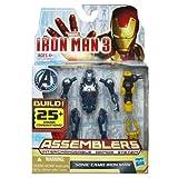 iron man 3 toys - Marvel Iron Man 3 Assemblers Sonic Camo Iron Man Figure