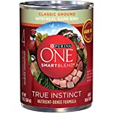 Purina ONE SmartBlend True Instinct Natural Grain-Free Classic Ground with Gamebird Adult Wet Dog Food – 13 oz. Can For Sale