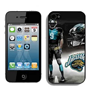 SevenArc NFL Jacksonville Jaguars Iphone 4s or Iphone 4 Case For NFL Fans