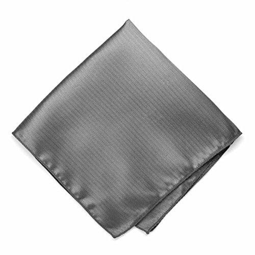 Herringbone Silk Pocket Square - 7