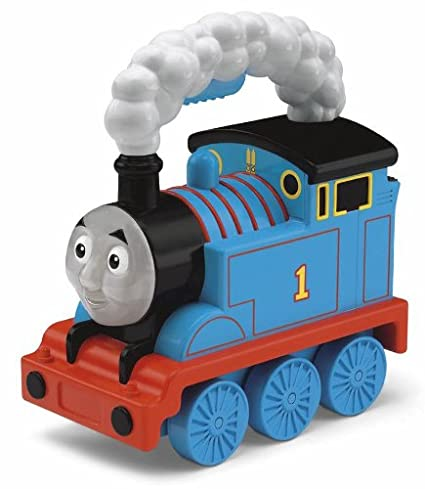 b73d5e1a5f1 Amazon.com: Fisher-Price Thomas & Friends Light-Up Talking Thomas: Toys &  Games