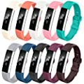 LEEFOX Fitbit Alta HR Bands, Classic Accessory Band Fit bit Alta HR and Alta Wristband Watch Buckle Replacement Strap for Fitbit Alta/Fitbit Alta HR Fitness Tracker, Large Small Men Women