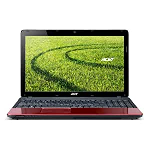 "Acer Aspire E1-531-2686 15.6"" Laptop (1.9 GHz Intel Celeron 1005M Processor, 4 GB RAM, 500 GB Hard Drive, DVD±RW DL Drive, Windows 7 Home Premium 64-bit) Glossy Red"