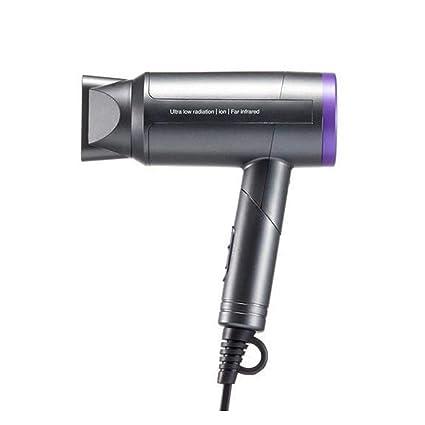 Secador de pelo plegable, secador de pelo eléctrico nano del ion negativo del poder más