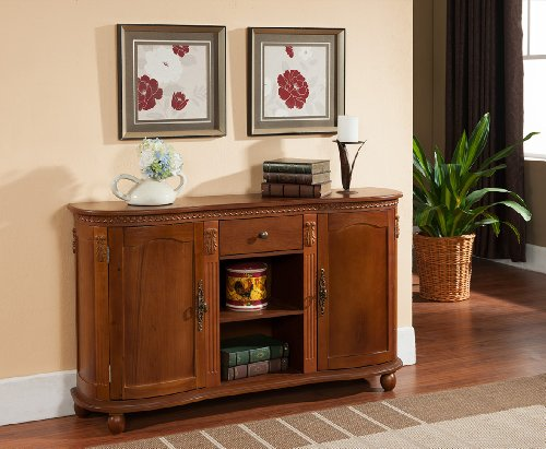 Kings Brand Console Sideboard Storage