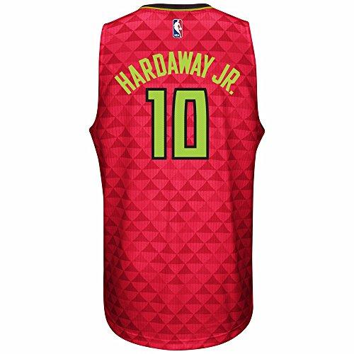 Tim Hardaway Jr Atlanta Hawks NBA Adidas Red Official Climacool Away Road Swingman Jersey For Men (M)