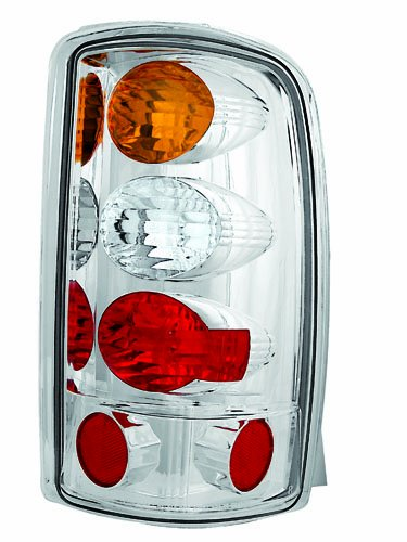 IPCW CWT-CE304CA Crystal Eyes Crystal Amber/Clear/Red Tail Lamp for Barn Doors and Lift Gate - Pair