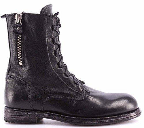 Zapatos Mujeres Botines MOMA 80602-C1 Cusna Nero Cuero Negro Vintage Made Italy