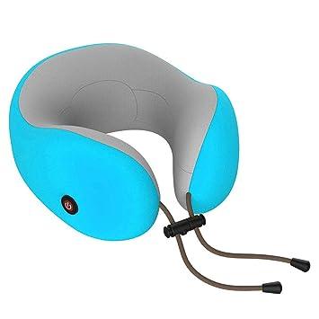 Almohada de masaje tipo U ervical Masajeador Cuello Cintura ...