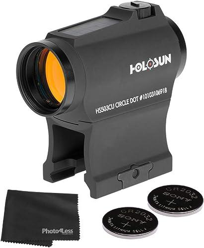 Holosun HS503CU Circle Red Dot Sight