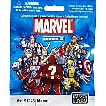 Amazon com: Mega Bloks - Marvel Micro Action Figure - Series 1