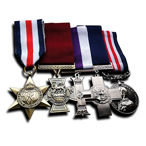 Military Medals 5x Group Set Victoria Cross , Military Medal, Military Cross, France and Germany Star & George Cross Replica, awards medals & army medals