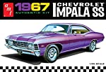 AMT 981 1967 Chevrolet Impala SS 1:25 Scale Plastic Model Kit - Requires Assembly from Amt