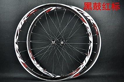 Juego de ruedas Pasak para bicicleta de carretera de 700C, con rodamientos sellados