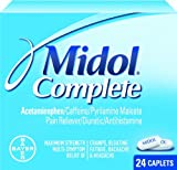 Midol Complete Caplets, 40-Count Boxes (Pack of 3)