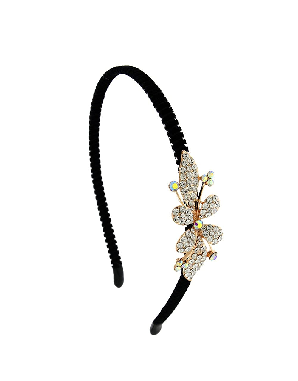 a94c87bbb Buy Anuradha Art Gold Finish Flower Inspired Beautiful Stylish Hair  Accessories Hair Band For Women/Girls Online at Low Prices in India    Amazon Jewellery ...