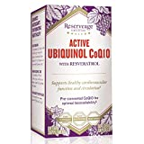 Reserveage – Ubiquinol CoQ10 with Resveratrol, Aids Heart Health, Cardiovascular Function, Circulation and Supports Healthy Aging with Kaneka Ubiquinol, Gluten Free, Vegetarian, 60 Capsules Review