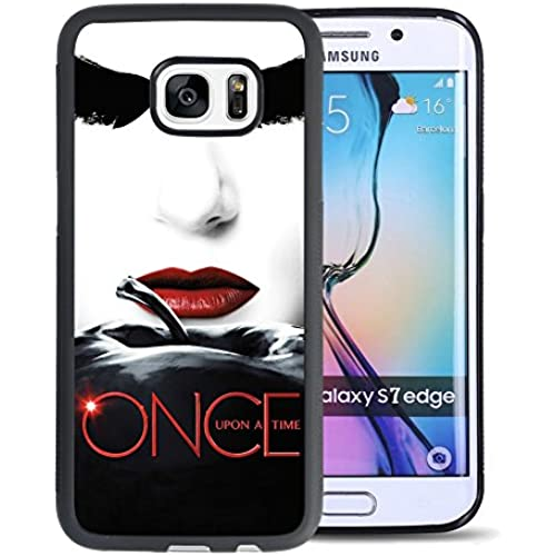 Customized TPU and PC Popular Design Once Upon A Time Samsung Galaxy S7 Edge Case Black Sales