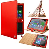 VG Red Arthur Detachable Stand Carrying Case for Microsoft Surface Pro 3