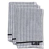 3 Piece Kitchen Towel Set Color: Black