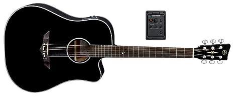 VGS RT-10 CE Root - Guitarra acústica, color negro