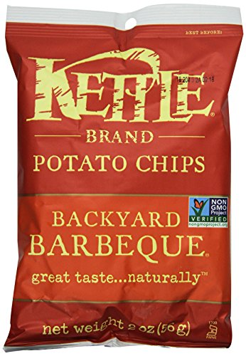 Kettle Brand Chips, Backyard BBQ, 2-ounces (Pack