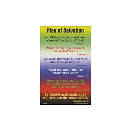 graphic regarding Romans Road Kjv Printable called : System Hues of Salvation Pocket Playing cards (Pkg of