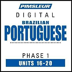 Portuguese (Brazilian) Phase 1, Unit 16-20